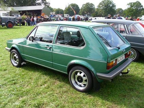 VW Golf I GL 1983 -2-   Tostedt 2010   Hog Troglodyte   Flickr