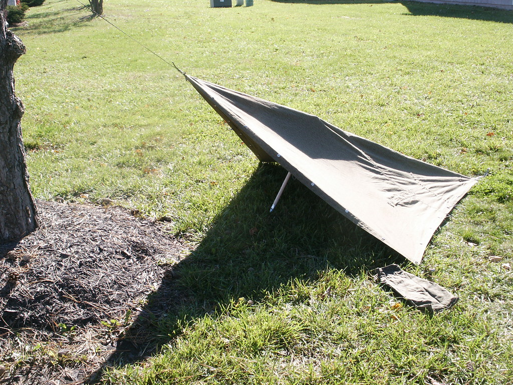 Zeltbahn tent   by Operation Eastwind Zeltbahn tent   by Operation Eastwind & Zeltbahn tent   A single zletbahn can make a usable tent foru2026   Flickr
