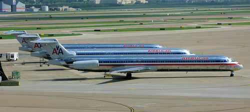 MD80's at Dallas Fort Worth | by Steve Selwood