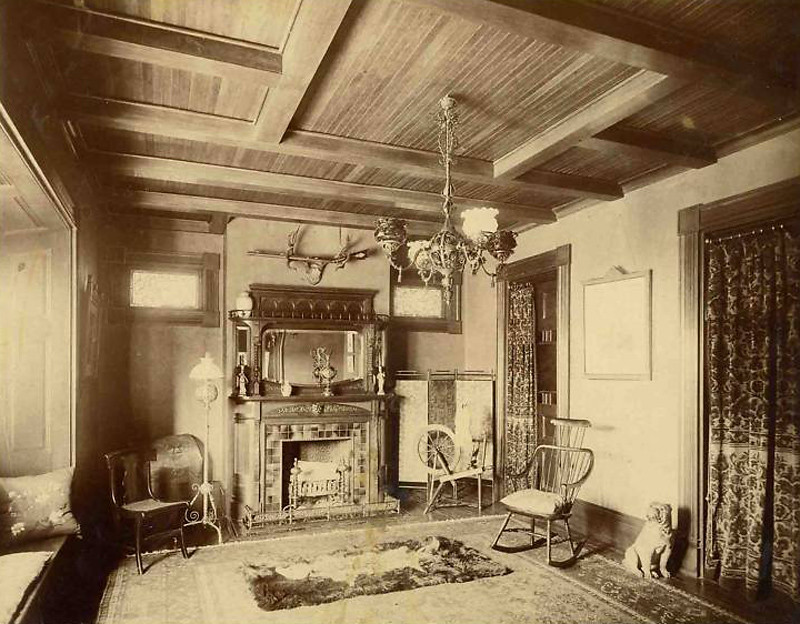 Victorian parlor 1880 39 s gaswizard flickr for Decoration interieur salon de the