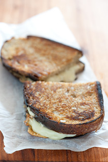 toasted cheese sandwich | by jules:stonesoup