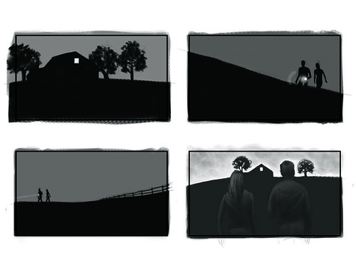 horror movie storyboard 03 | by j.albright
