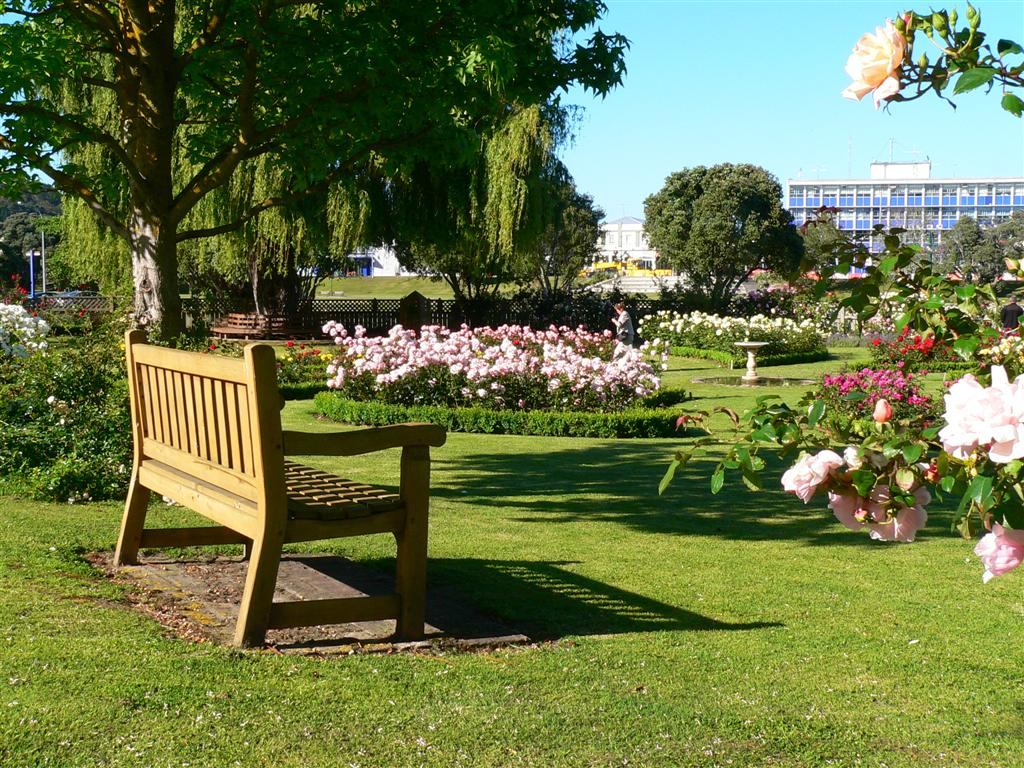 Admirable Garden Bench At Park In York Uk Photo Trunk Flickr Cjindustries Chair Design For Home Cjindustriesco
