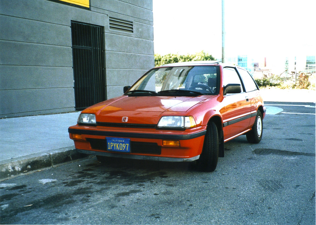 1986 Honda Civic Si Build Year 1985 Taken With A Pentax Flickr