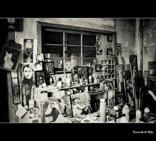 l 39 atelier garage moderne marathon fnac bordeaux flickr. Black Bedroom Furniture Sets. Home Design Ideas