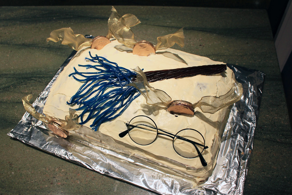 Harry Potter Birthday Cake Candles
