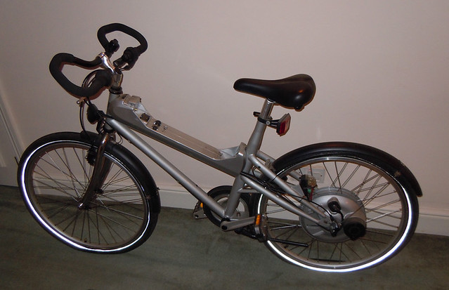 Mercedes benz electric hybrid bike flickr photo sharing for Mercedes benz bike