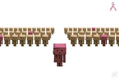 I like it on my Danbo. - United we stand