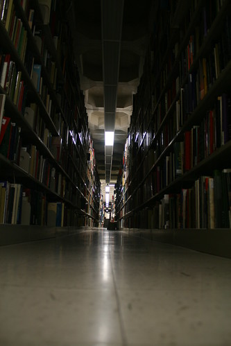 Library stacks | by quinn.anya