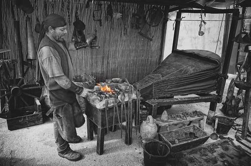 El herrero una foto ni mucho menos buena t cnicamente - Herreros en malaga ...