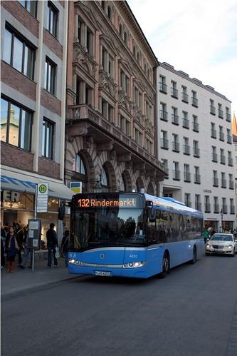 MVG Solaris Urbino 12 (4201) Solo am Viktualienmarkt