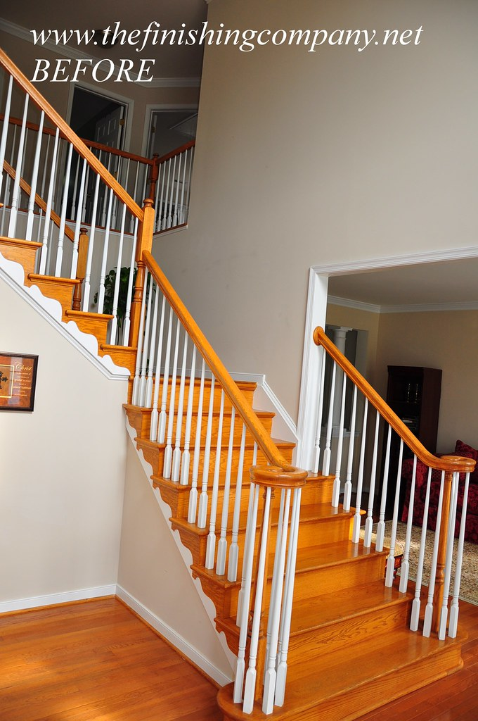 Chair Rail On Stairs Www Thefinishingcompany Net We Are