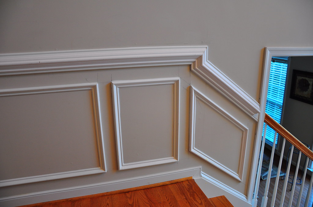 Chair Rail Staircase Part - 22: ... Chair Molding | By The Finishing Company Richmond Va