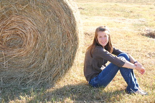 Senior Picture by the Bale | by geneticallyinsane