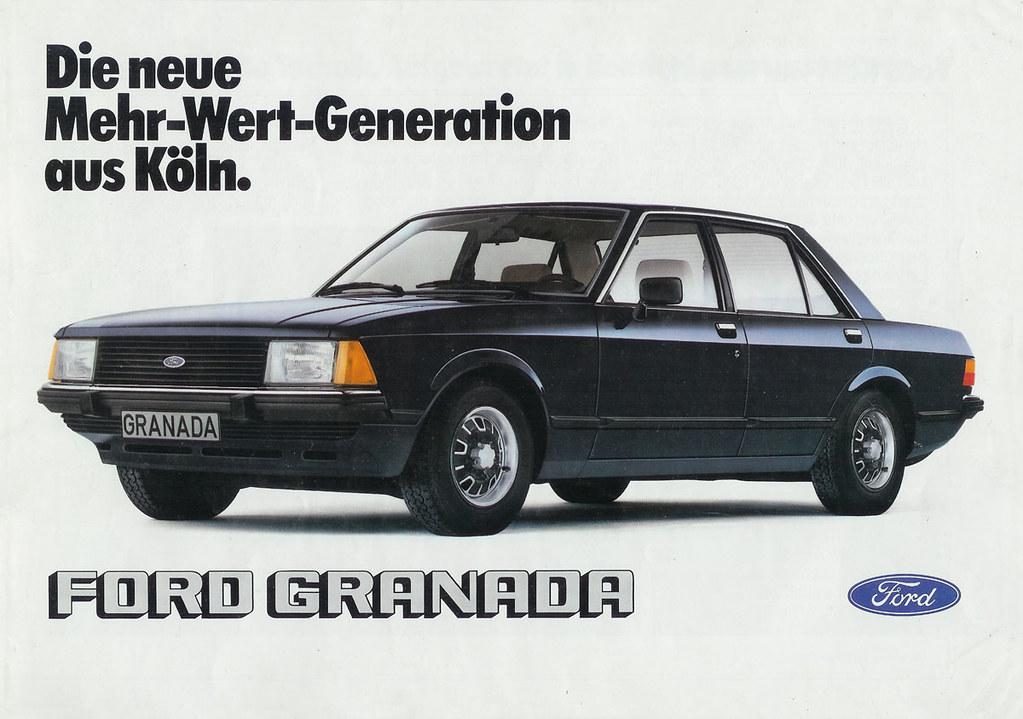 1980 mk2 1 ford granada german brochure 00249 main. Black Bedroom Furniture Sets. Home Design Ideas