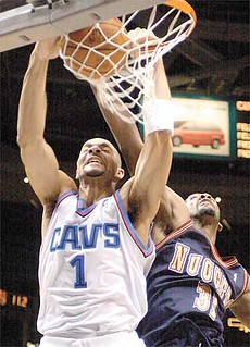 Boozer Dunks | by Cavs History