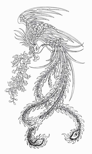 Chinese phoenix tattoo 21 Flickr Photo Sharing