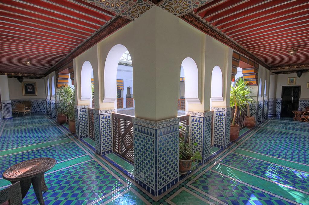Splendours of Moroccan architecture Our riad had a