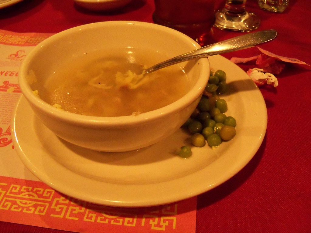 egg flower soup for my mom s 60th birthday we went out to …