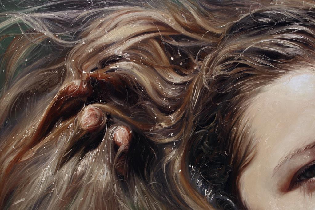 Bait Detail Alyssa Monks Contemporary Oil Artist Inter