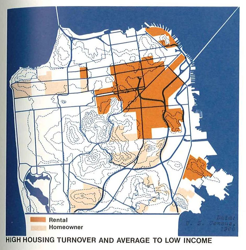 Low Income Apartments In Dc: High Housing Turnover And Average To Low Income (1971