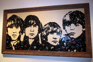 NYC: Mr. Brainwash's Icons Remix - The Beatles (Broken Records) | by wallyg