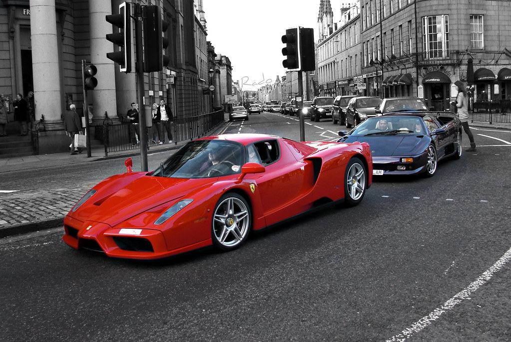Enzo Amp Diablo Vt Ferrari Enzo And Lamborghini Diablo Vt No Flickr