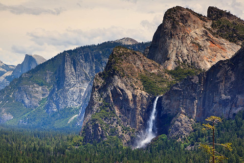 Yosemite National Park, Bridalveil Falls | by Bridgeport Mike