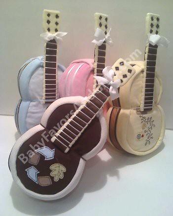 baby shower gift ideas shaped guitar diaper cake flickr. Black Bedroom Furniture Sets. Home Design Ideas