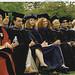 Faculty Enjoying 2003 Graduation