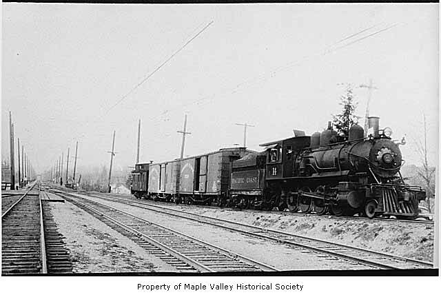 Pacific Coast Railroad Company engine number 14 going to T… | Flickr Pacific Railway Company