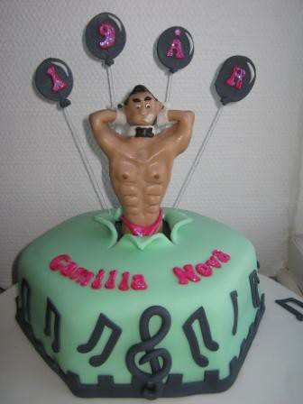 Birthday Cake Male Stripper Images