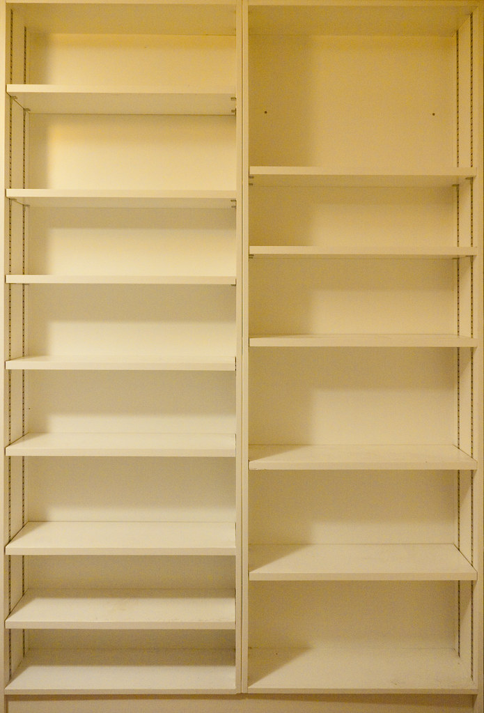 Empty Shelves Bernie Sumption Flickr