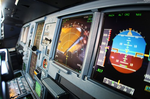 A340 Cockpit Displays | by Pilots of Swiss