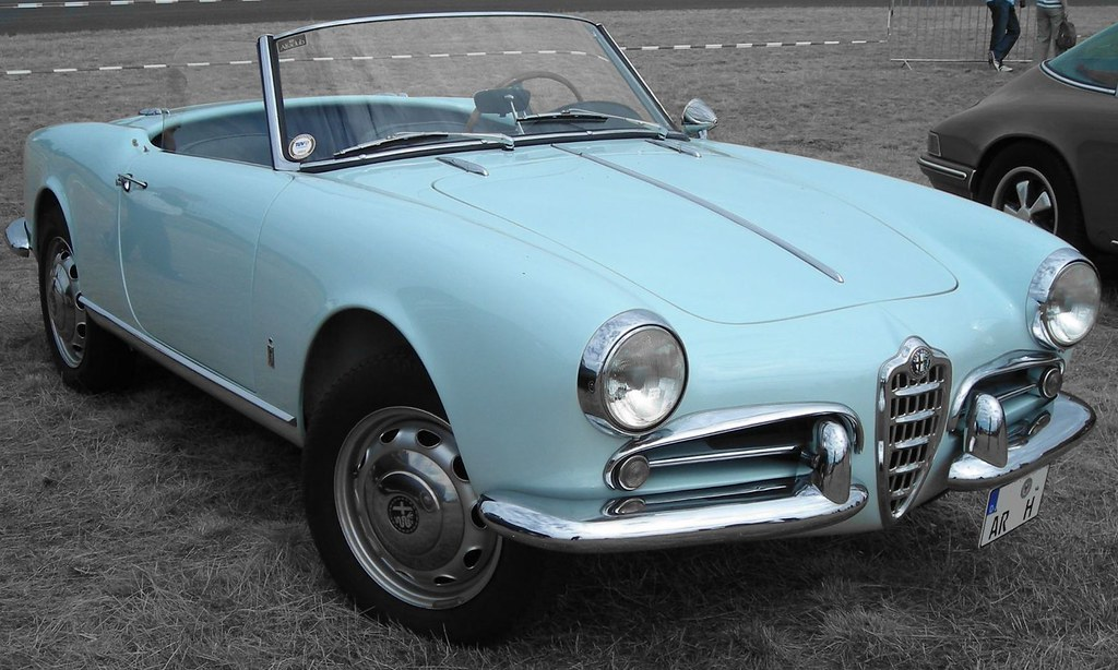 alfa romeo giulietta spider 1300 cc 1955 1962 the alfa flickr. Black Bedroom Furniture Sets. Home Design Ideas