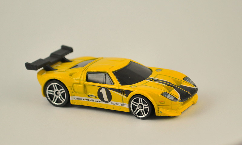 Hot Wheels Ford Gt Lm Yellow By Mkthien