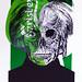 POP NEVER DIE   Portrait of Andy Warhol 11/15