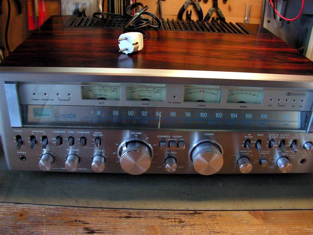Sound News Forums :: Tema: Jos jedan Big G Sansui receiver