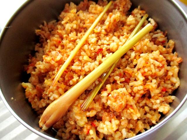 Nasi goreng udang kering 2