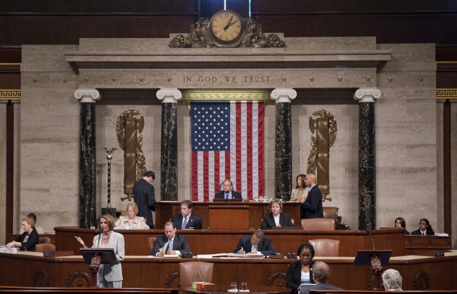 Congressman Jim Langevin Presides Over The House Of Repres
