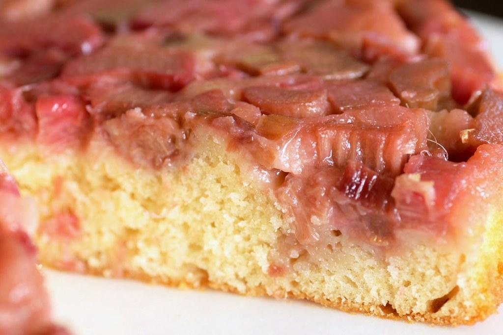Rhubarb With White Cake Mix