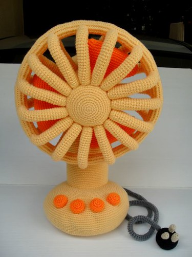Crochet Vintage Fan | by skymagenta