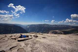 me on top of half dome | by @ayn