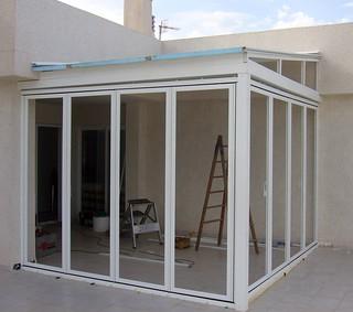 Caseta de aluminio caseta de aluminio para la terraza for Cristaleria benissa