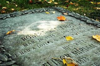 Robert Frost Grave
