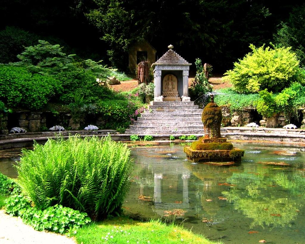 Sezincote Garden - Cotswolds | Best viewed LARGE on Black ...