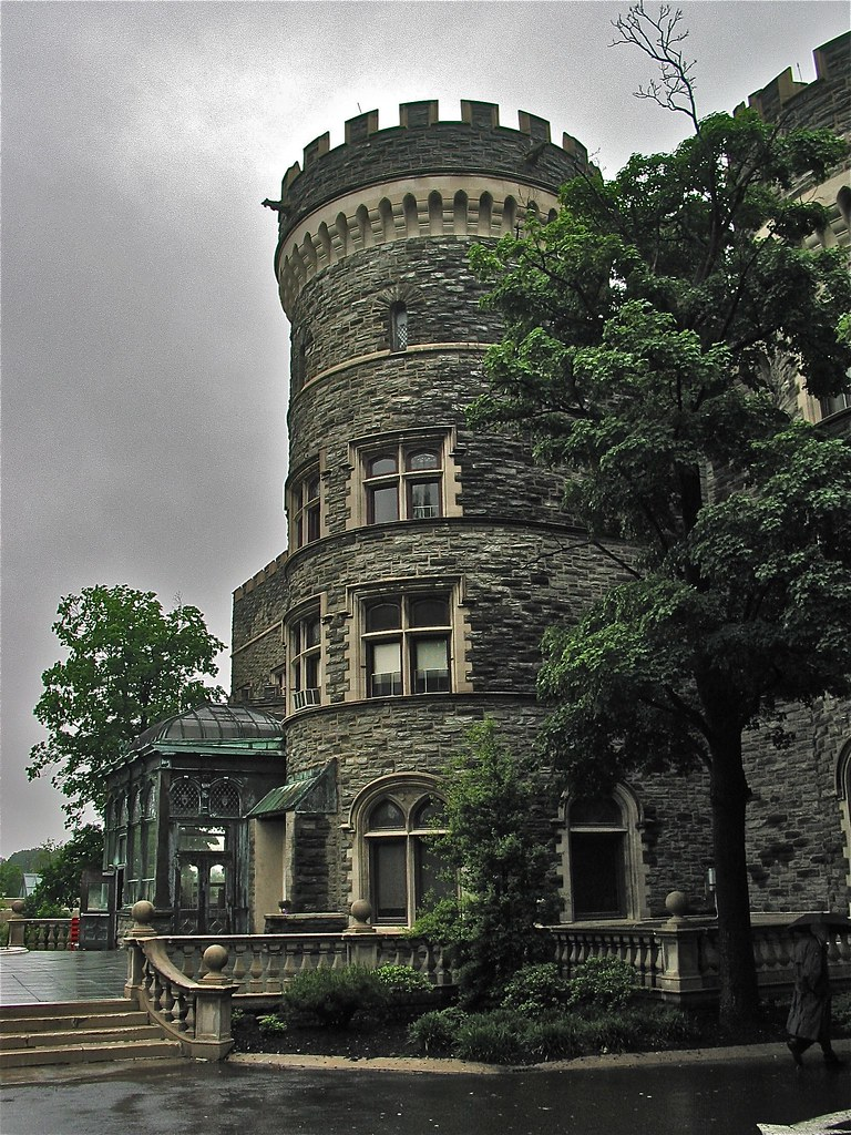 Grey Towers Castle (1893) – National Historic Landmark ...