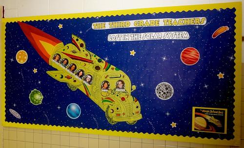 Bulletin Board Ideas Infant Classroom ~ Magic school bus bulletin board beth sawyer flickr