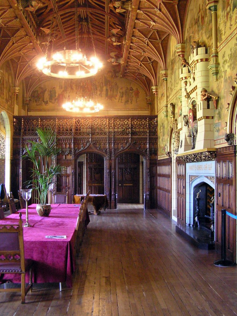 Cardiff Castle Dining Room