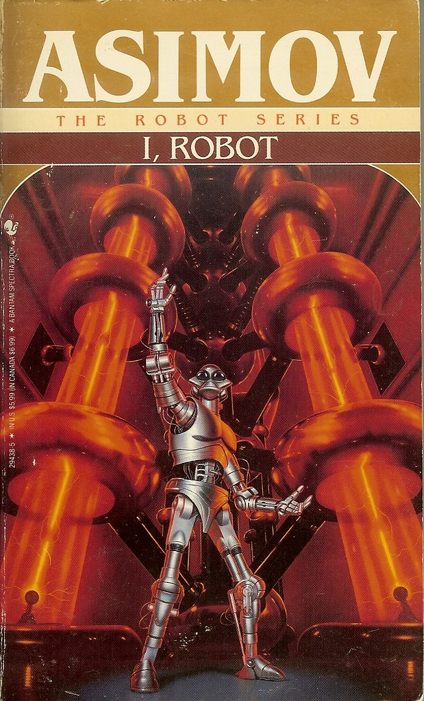 Book Cover Artist Jobs : Isaac asimov i robot ra az flickr